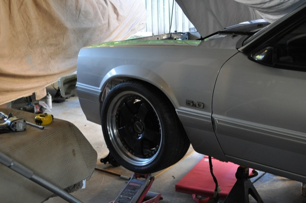 18 quot forgeline wheels on 93 coupe which ones ford mustang forums corral net mustang forum