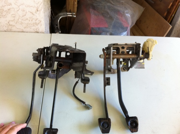 Hydroboost Brake Pedal Assembly Modified For Fox Mustang