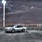 1993 Mustang Coupe HDR Picture with Tampa, FL Background
